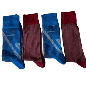 (4)Hugo Boss Men's Peter and Design US Socks
